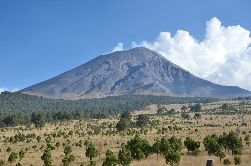 Izta-Popo National Park near Mexico City is home to two famous volcanos. Visiting the park is a great getaway from the hustle and bustle of Mexico City.