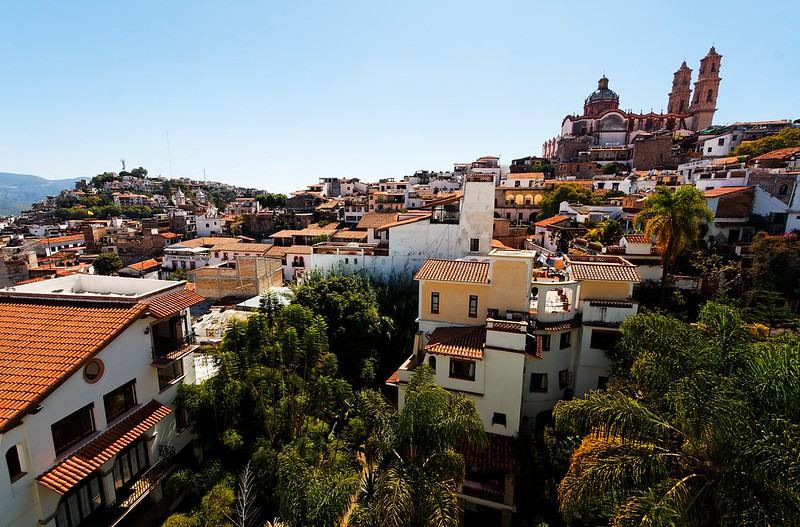 Beautiful Panoramic view of Taxco. Taxco is a former silver mining town that has become a great tourist destination. Located near the capital, it makes for great day trips from Mexico City.