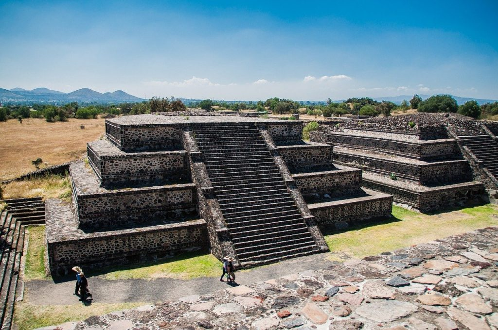 Large, monumental temples of Teotihuacan date back to the ancient times. The ancient city of Teotihuacan is only half an hour away from Mexico City, making it perfect for a Mexico City day trip.