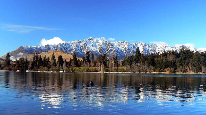 The Remarkables Mountain range in New Zealand is home to a wonderful ski resort.
